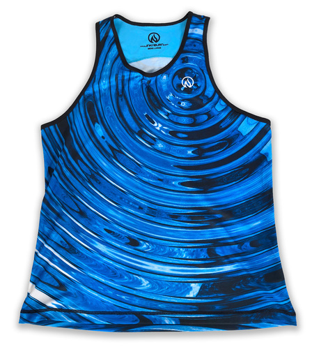 INKnBURN Men's Ripple Singlet