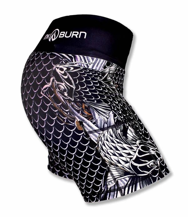 "INKnBURN Women's Koi 4"" Shorts"