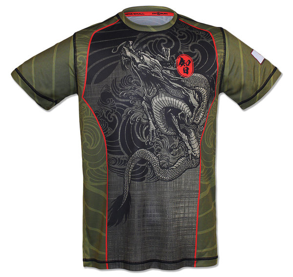 INKnBURN Men's Endurance Dragon Tech Shirt s/s