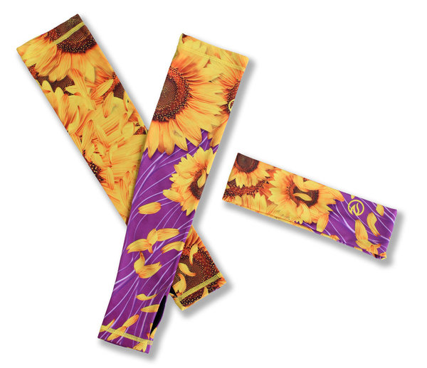INKnBURN Women's Sunflower Headband/4Arms Kit