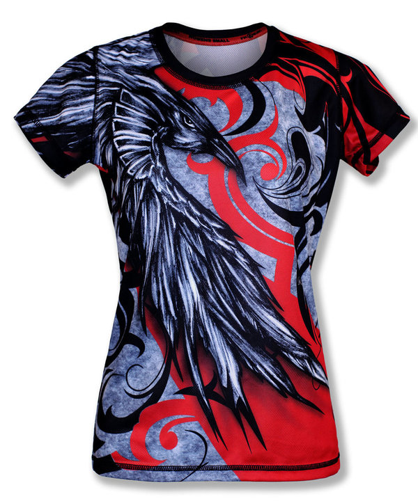 INKnBURN Women's Raven Tech Shirt