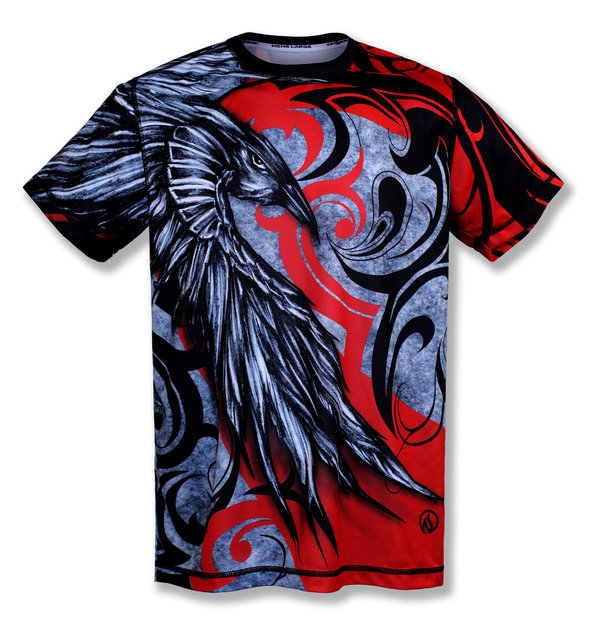 INKnBURN Men's Raven Tech Shirt