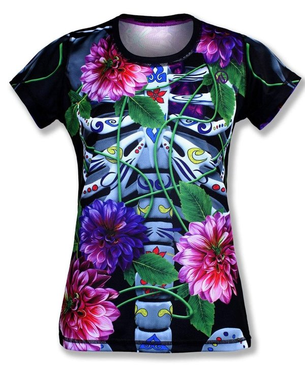 INKnBURN Women's 2019 Calavera Tech Shirt