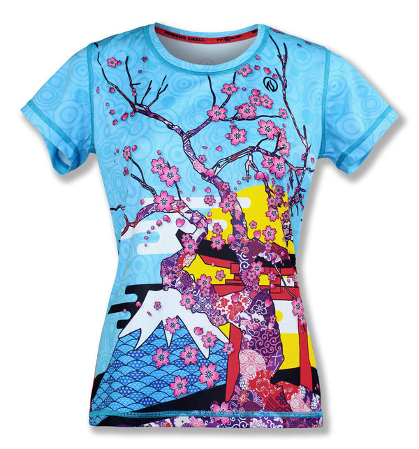 INKnBURN Women's Spring in Japan Tech Shirt