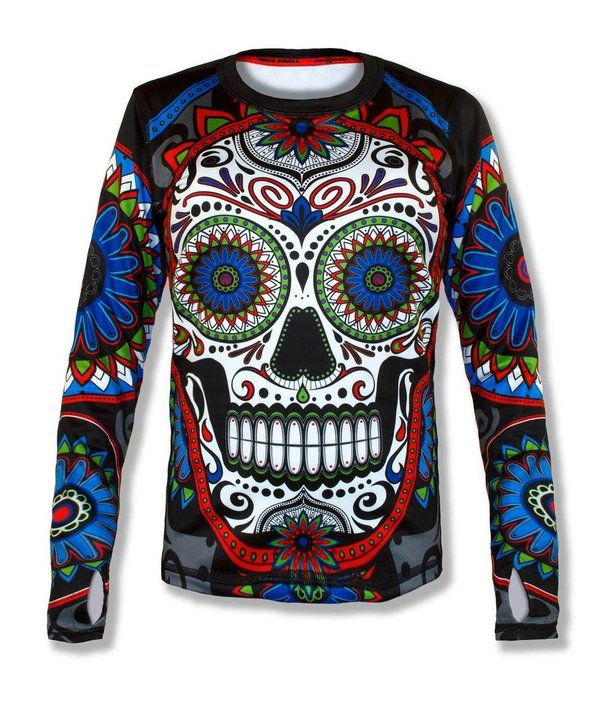 INKnBURN Men's Calavera Pullover with Thumbholes
